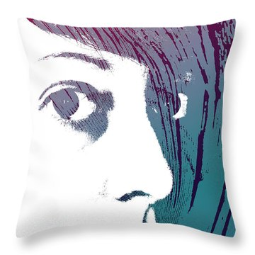 Throw Pillow featuring the photograph True Colors by Lauren Radke