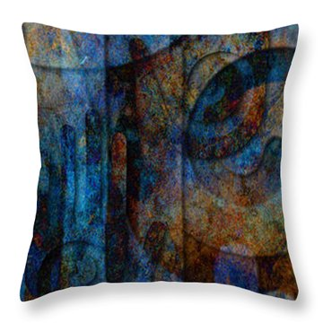Throw Pillow featuring the digital art True North by Kenneth Armand Johnson