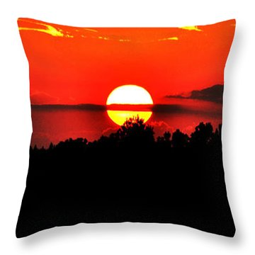 True Yin And Yang Throw Pillow