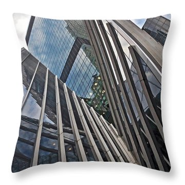 Trylon Towers Throw Pillow