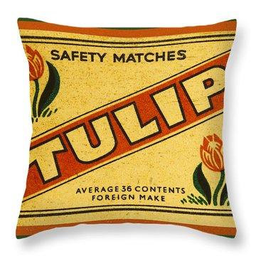 Label Throw Pillows