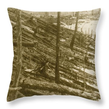 Tunguska Event, 1908 Throw Pillow by Science Source