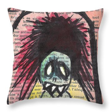 Tunnel Vision Throw Pillow by Jera Sky