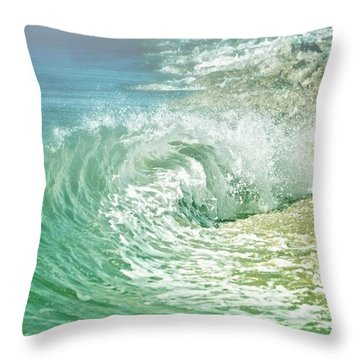 Turbulent Throw Pillow
