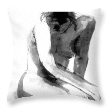 Turn Back Throw Pillow