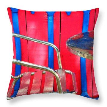 Tuscadero Throw Pillow by Skip Hunt