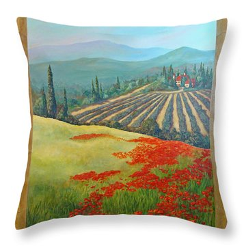 Tuscan Vista Throw Pillow