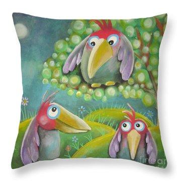 'tweet' Throw Pillow
