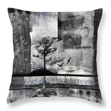 Twelve Moons Throw Pillow