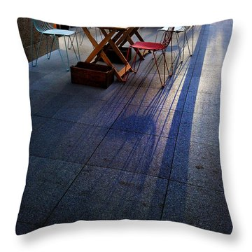 Twilight Shadows Throw Pillow