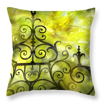 Twirling - Swirling  Throw Pillow
