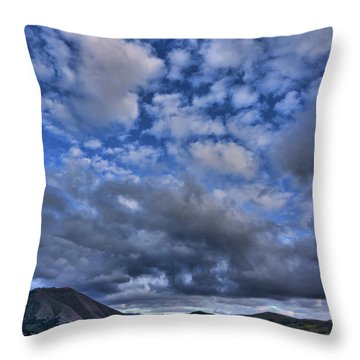 Twitchell Reservoir  Throw Pillow