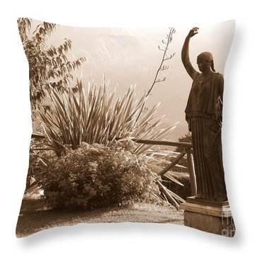 Two Graces Throw Pillow