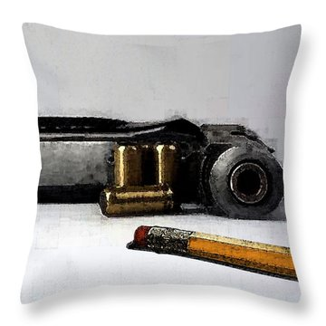 Two Rights Throw Pillow