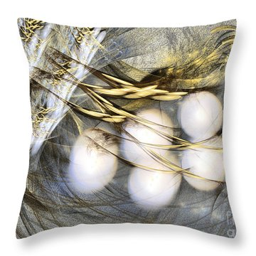 Ultima Thule - Abstract Art Throw Pillow