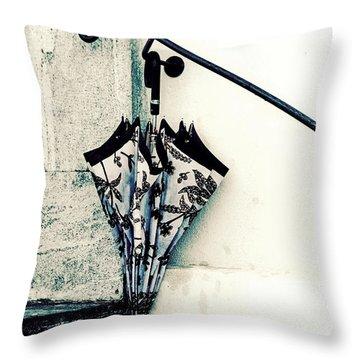 Umbrella Throw Pillow by Joana Kruse
