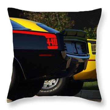 Unbeatable Dynamic Duo Throw Pillow by Gordon Dean II