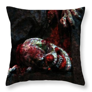 Uncle Giggles Throw Pillow