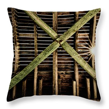 Under The Pier Throw Pillow by Christopher Holmes