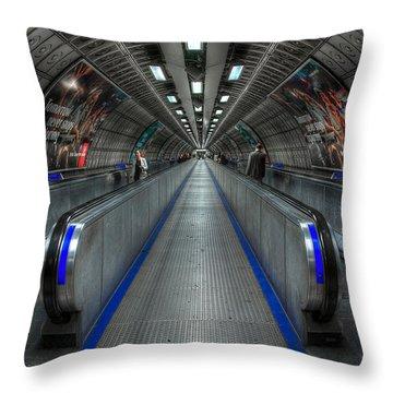 Underground Life 01 Throw Pillow by Svetlana Sewell