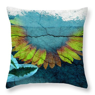 Underwater Sun Throw Pillow by The Artist Project