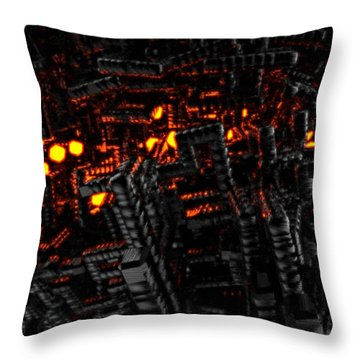 Unfortunate Eternal Dwelling Throw Pillow