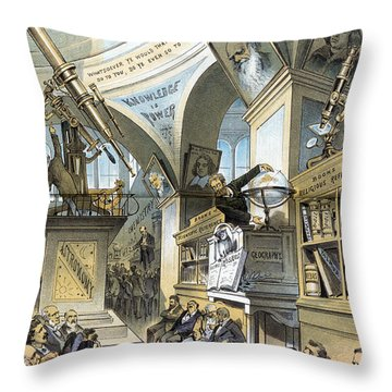 Universal Church Of The Future, 1883 Throw Pillow by Science Source