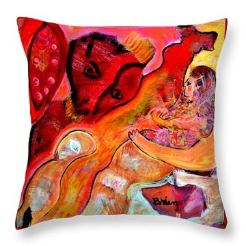 Universality Throw Pillow