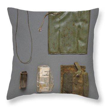 Unknown Soldier Identified Throw Pillow