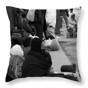 Unremembered Throw Pillow