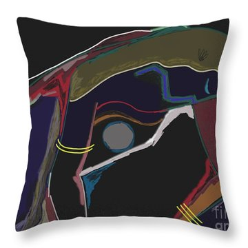 Untitled 17 Throw Pillow