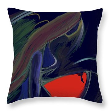 Untitled 22 Throw Pillow