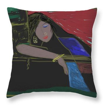 Untitled 5 Throw Pillow
