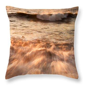 Up Close Throw Pillow by Svetlana Sewell