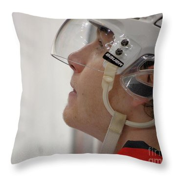 Up Close With #88 Throw Pillow