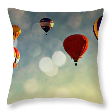 Up There Throw Pillow