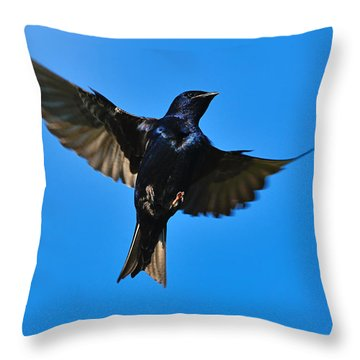 Up Throw Pillow by Tony Beck