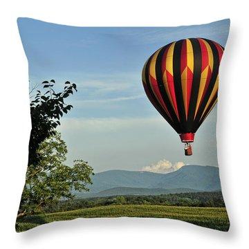 Up Up And Away Blueridge 2 Throw Pillow