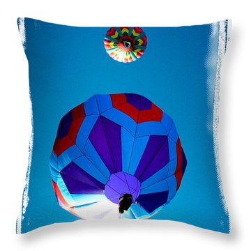 Up Up And Away Throw Pillow by Mike Martin