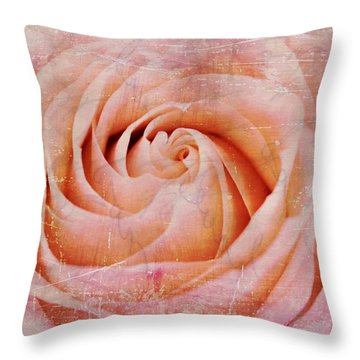 Urban Bloom Throw Pillow