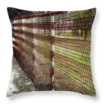 Urban Canvas Throw Pillow by Luke Moore