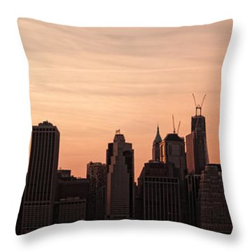 Urban Dreaming Throw Pillow by Andrew Paranavitana