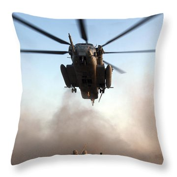 U.s. Marines Preparing To Attach An Throw Pillow by Stocktrek Images
