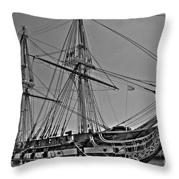 U.s.s. Constitution 2 Throw Pillow