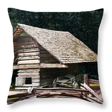 Utility And Strength Throw Pillow by Barry Jones