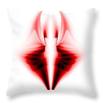 V Throw Pillow