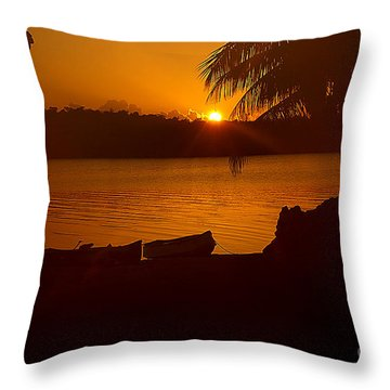 Throw Pillow featuring the photograph Valhalla by Anne Rodkin