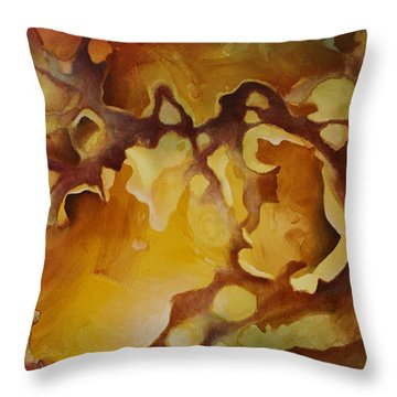 'vanishing Point' Throw Pillow by Michael Lang