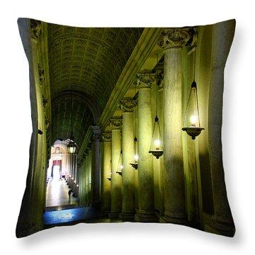 Vatican Stairway Throw Pillow