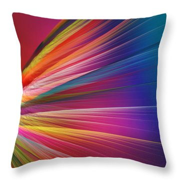 Velocity Throw Pillow